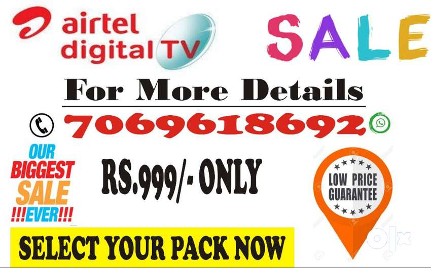 AIRTEL DTH  SUPER SALE IS ON ! HURRY UP 0