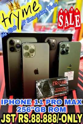 TRYME 256Gb,IPHONE 11 PR0 Ful Kit Box With Warranty