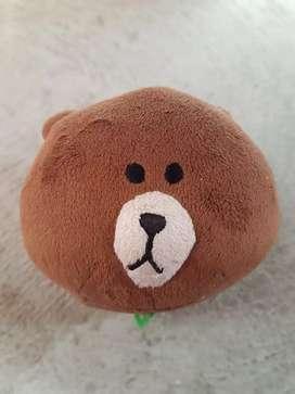 Boneka line brown ex hadiah mini