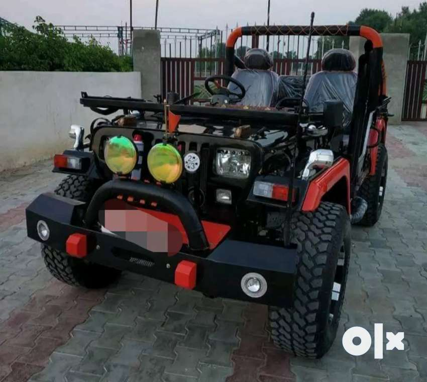 Modified willy jeep 0