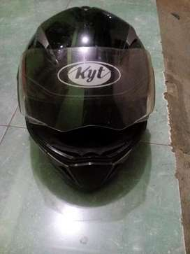 Jual helm kyt double visor/bt android