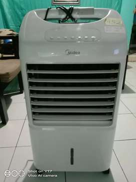 Kipas air cooler midea ac120, mulus normal