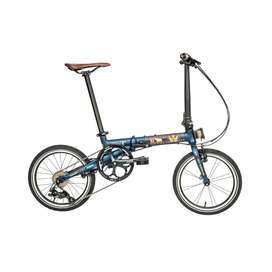 Sepeda Lipat Camp Hazy 9sp Sulawesi Limited Edition