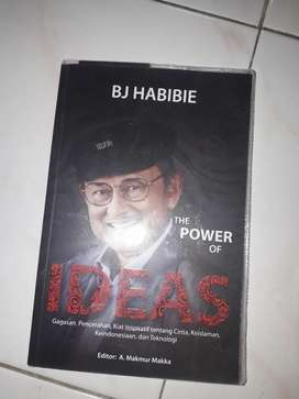 Buku the powor of ideas Bj Habibi ORIGINAL