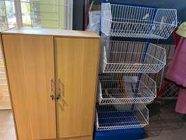 Dijual set lemari dapur dan rak serbaguna