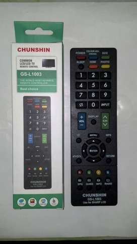 REMOT REMOTE TV LCD LED SHARP MULTI UNIVERSAL SERBA GUNA