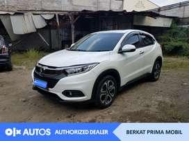 [OLXAutos] Honda HRV 2019 E 1.5 Bensin A/T Putih #Berkat Prima