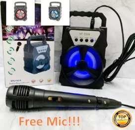 Speaker bluetooth + plus mic karaoke HF-S338