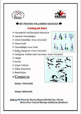 Are you looking for a maid Or domestic worker?