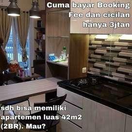Apartemen Siap Huni Full Furnish di Jakarta Cuma Bayar Booking Fee