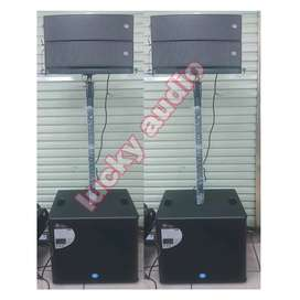 Line Array TOPPPRO FLX 5 Soho S15 2x2800watt original resmi