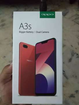 Oppo A3s exchange possible