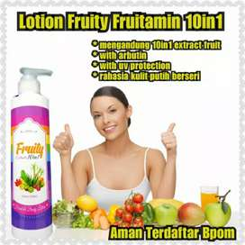 Lotion Fruitamin Bpom [ fruity lotion ]
