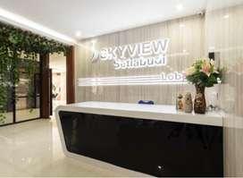 Disewakan Studio Room di Apartement Skyview Setia Budi
