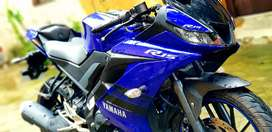 Yamaha r15v3 exactly showroom condition