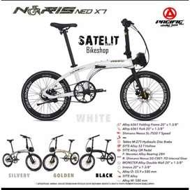Sepeda Lipat Seli Folding Bike Pacific Neo X7 Ukuran 20 Inch
