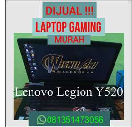 LAPTOP GAMING MURAH !!! Lenovo legion y520 i5 GTX 1050