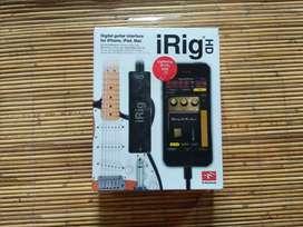 iRig HD - Digital Guitar Interface for Iphone, iPad, Mac