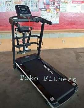 Pusat Alat fitness / Treadmill elektrik TL 607 ready 3in1