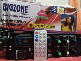 BIGZONE BLUETOOTH AMPLIFIER double IC, & REMOTE CONTROL