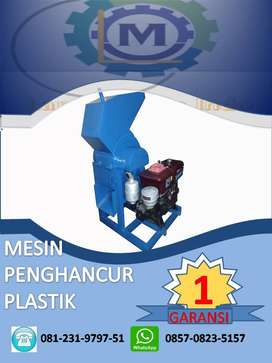 mesin cacah plastik