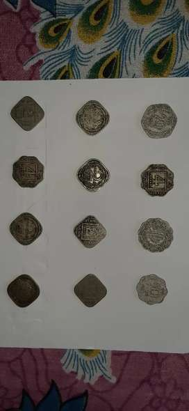 Old coins are available.