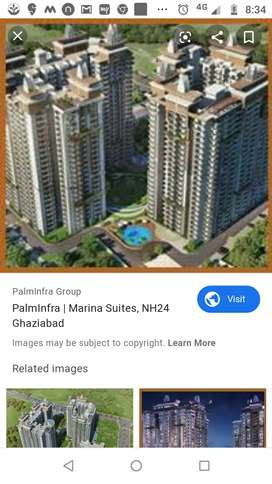 2 bhk in Palm infra Marina suits on nh-24