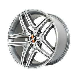 velg mobil mercy ring 18 et 45 rata grey polish brands hsrwheel