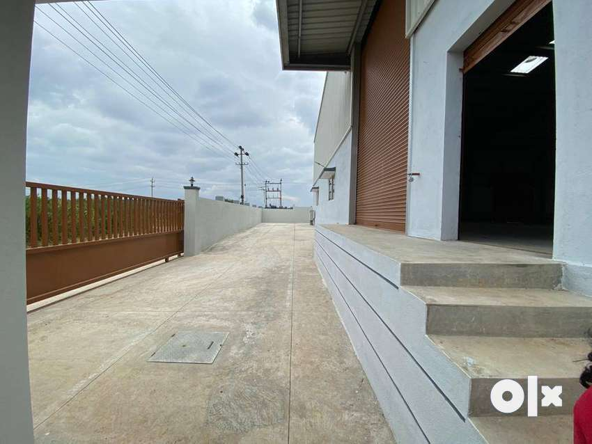 7500sft industrial shed/ warehouse space for rent in bidadi 0