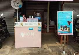 paket usaha bekas KINI CHEESE TEA lokasi surabaya kondisi like new
