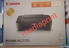 Printer canon mg2570 print scan copy hanya 785rb+infus