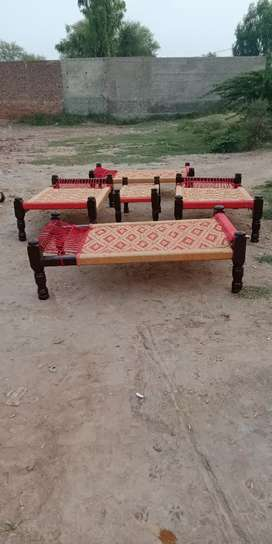 wooden charpai durable