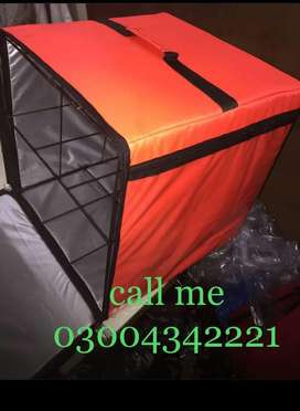 Delivery bags/ pizza ovens/ deep fryer/ hot case