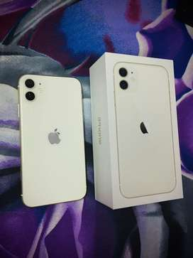 Want to sale india iphone 11 64gb white brand new condition