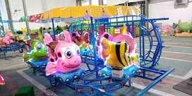 03 singa genjot pony kereta panggung ikan nemo