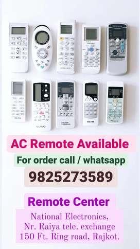 All AC remote