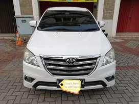 Toyota Kijang Innova V Luxury  2013 A/T - Service Record Astrido