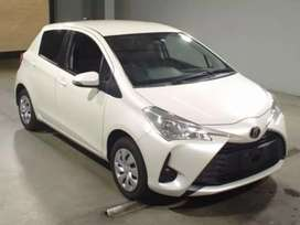 Get your own Toyota vitz 2017 on easy monthly installments