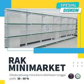 Rak Toko Super Murah / Rak Gondola / Rak Minimarket