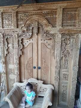 yunus pintu gebyok gapuro jendela untuk rumah gedung masjid musholla