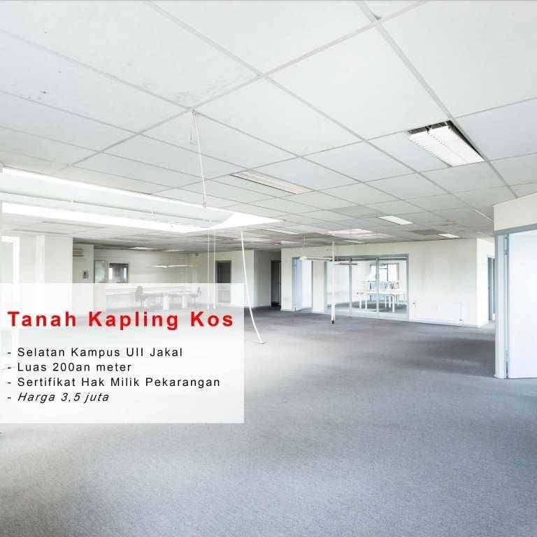 Gratis Balik Nama Kavling Kost 3Jt'an Pecah Unit Di Jogja Jakal 0