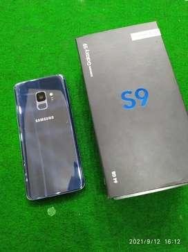 SAMSUNG S9 CORAL BLUE DUAL SIM FULLSET LIKE NEW