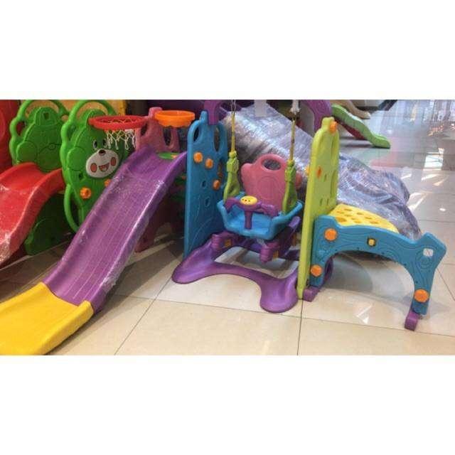 Mainan anak Ayunan Perosotan / Prosotan Paso Popo Ex Display 0