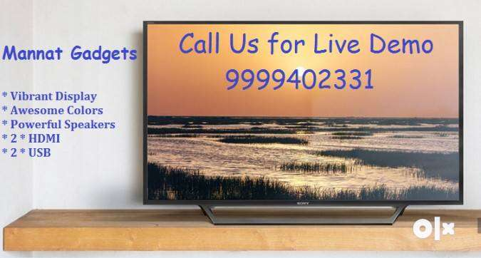 All size are 24 to 55 inches are available With warranty & Easy EMI 0