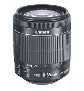 Canon 18-55 mm lens
