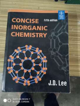 Concise inorganic chemistry by JD LEE helpful for JEE NEET