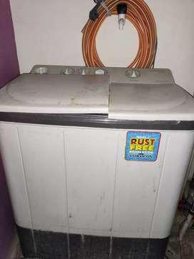 Videocon washing machine top load 6kg