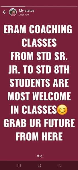 I Am A teacher I can teach All subjects From STD sr. jr. to STD 10th