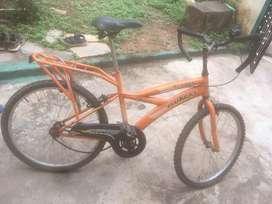 Suraj bycicle orange in colour