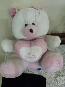 Soft toy teady bear rs. 500